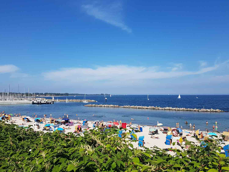 Strand Kiel Schilksee